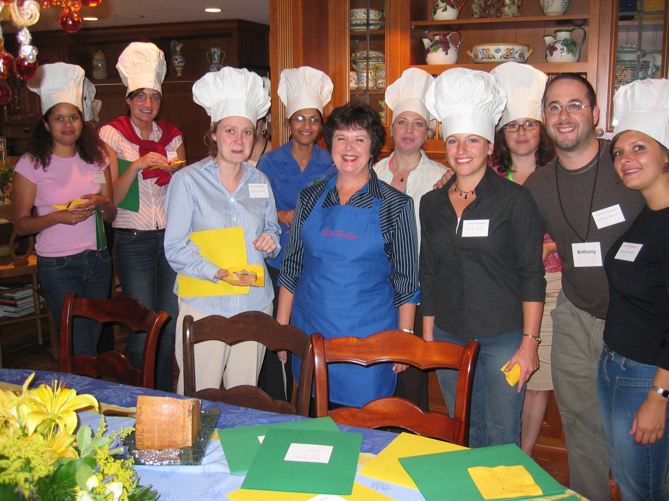 Cucina Casalinga Corporate Cooking Classes