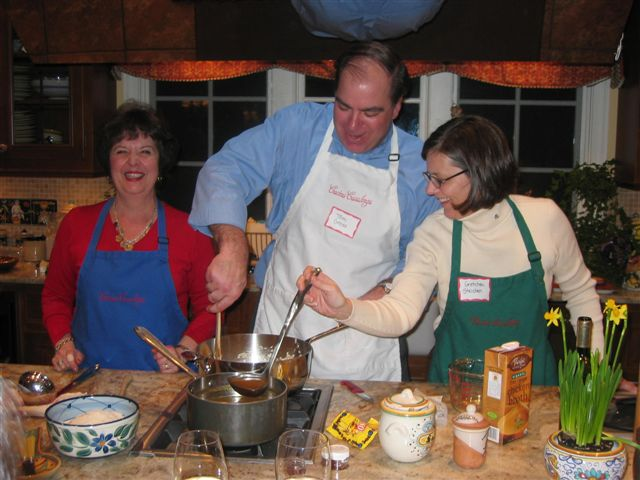 Corporate Cooking Classes at Cucina Casalinga